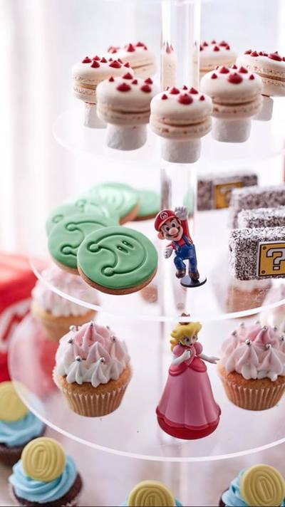 Super Mario High Tea