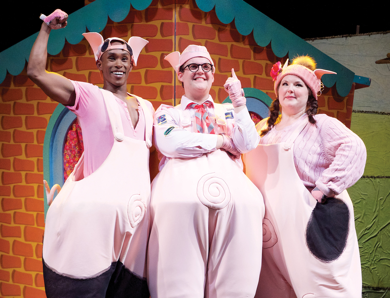 The Three Little Pigs at Arts Centre Melbourne