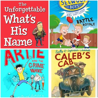 The 5 Best Books for Boys aged 7 plus Montage