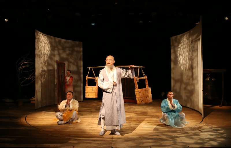 China National Theatre for Children presents Three Monks at Arts Centre Melbourne