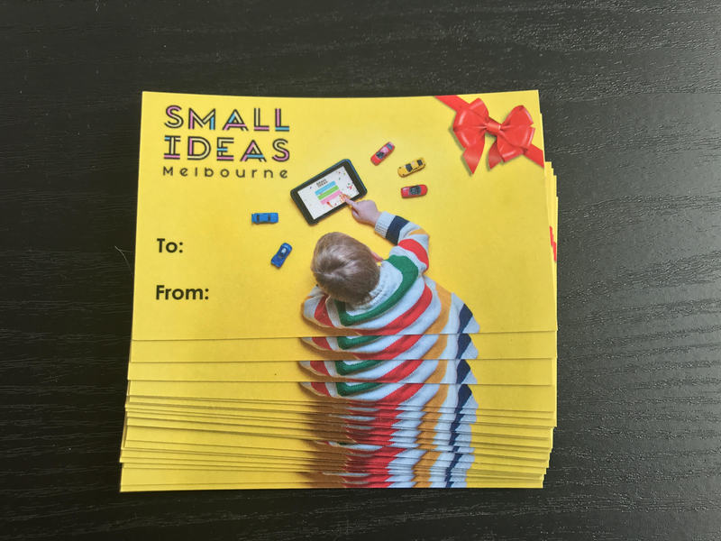 Small Ideas Melbourne Voucher Membership 2018