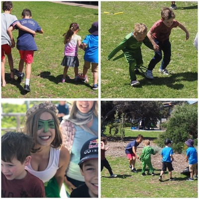 Why You Should Hire a Waggle Dance Entertainer for a Kids Party in the Park Montage