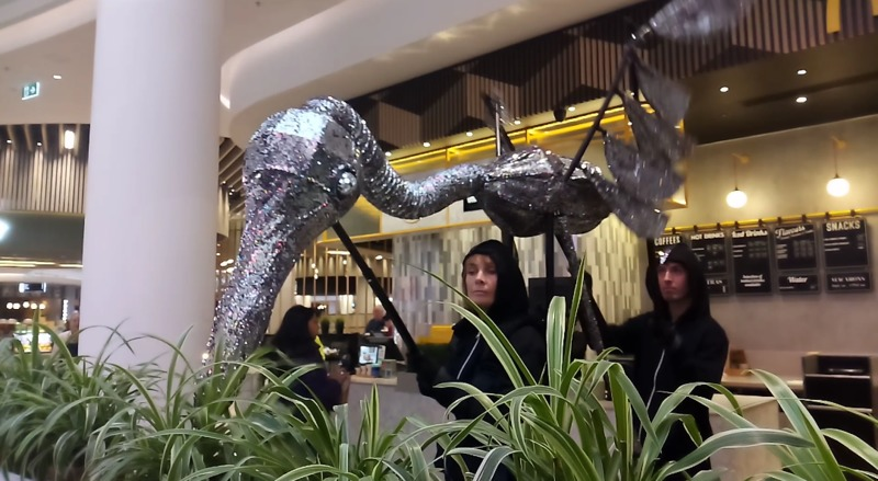World on a String at Chadstone in September